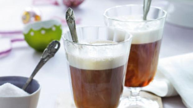 Fransk dessert kaffe